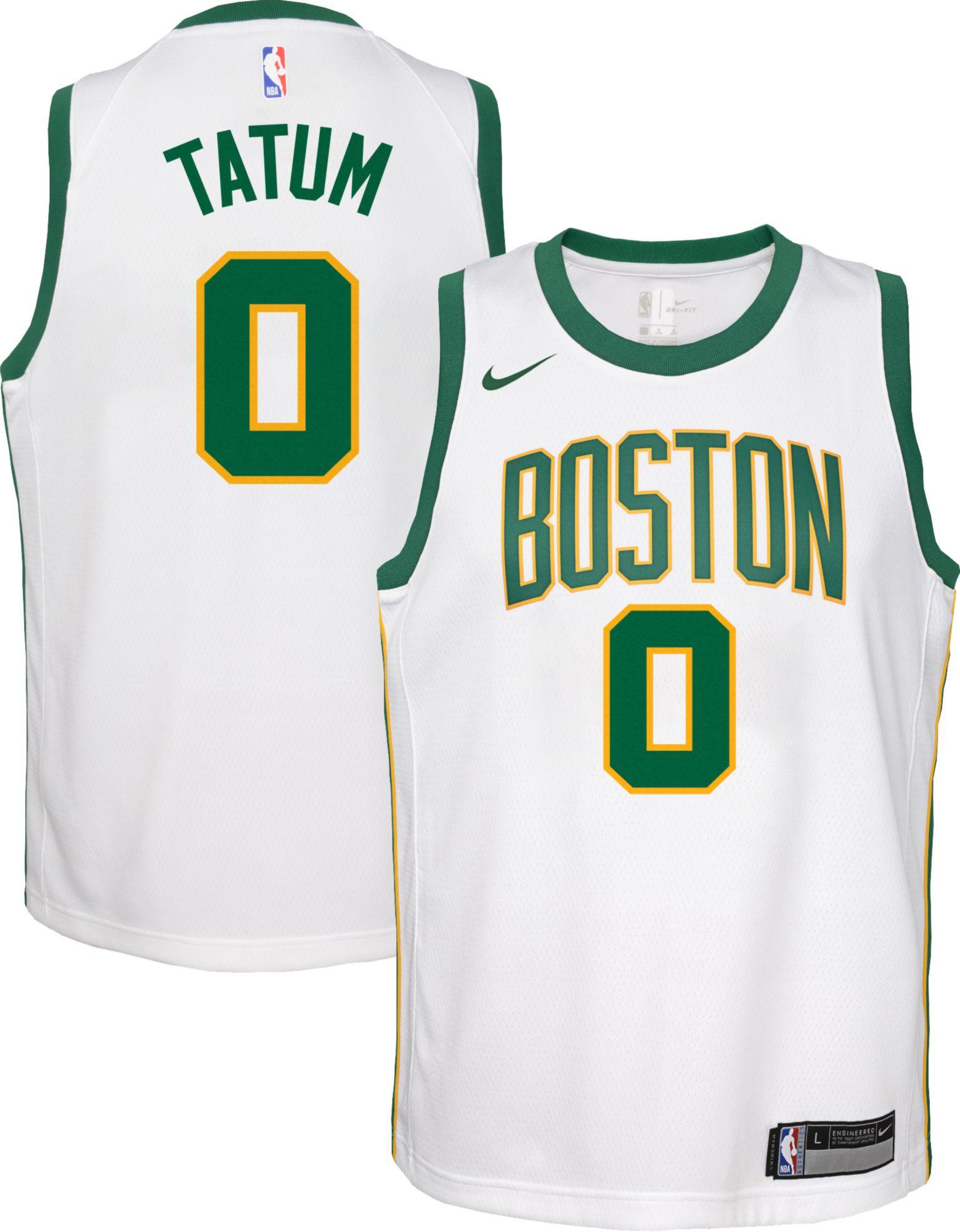 classic fit 8734e 45edb jayson tatum jersey
