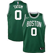 a6b62d818 Product Image · Nike Youth Boston Celtics Jayson Tatum  0 Kelly Green  Dri-FIT Swingman Jersey