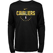 Nike Youth Cleveland Cavaliers Dri-FIT Practice Long Sleeve Shirt