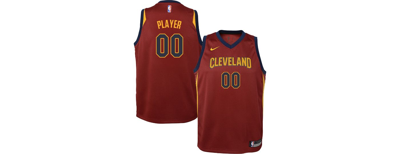 Nike Youth Full Roster Cleveland Cavaliers Red Dri-FIT Swingman Jersey