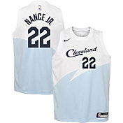 Nike Youth Cleveland Cavaliers Larry Nance Jr. Dri-FIT Earned Edition Swingman Jersey