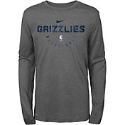 Nike Youth Memphis Grizzlies Dri-FIT Practice Long Sleeve Shirt