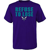 Nike Youth Charlotte Hornets ''Refuse To Lose'' T-Shirt