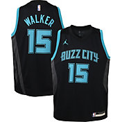 Jordan Youth Charlotte Hornets Kemba Walker Dri-FIT City Edition Swingman Jersey