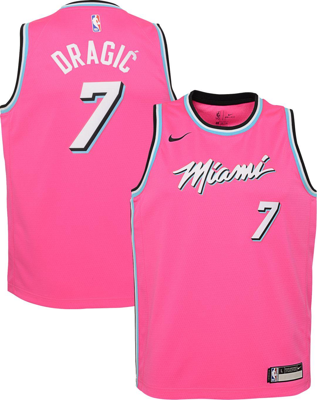 20dda35c6bb Nike Youth Miami Heat Goran Dragic Dri-FIT Earned Edition Swingman Jersey 1