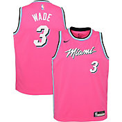 Nike Youth Miami Heat Dwyane Wade Dri-FIT Earned Edition Swingman Jersey