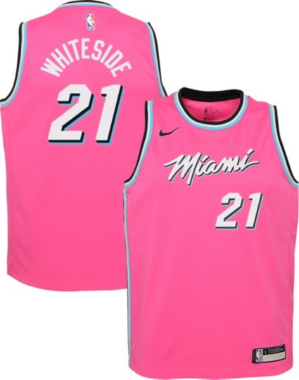 Nike Youth Miami Heat Hassan Whiteside Dri-FIT Earned Edition ... 711cee3d8