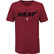 Nike Youth Miami Heat Dri-FIT Practice T-Shirt