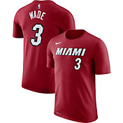 Nike Youth Miami Heat Dwyane Wade #3 Dri-FIT Statement Red T-Shirt