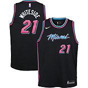 Nike Youth Miami Heat Hassan Whiteside Dri-FIT City Edition Swingman Jersey