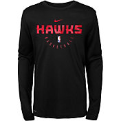 Nike Youth Atlanta Hawks Dri-FIT Practice Long Sleeve Shirt