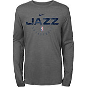 Nike Youth Utah Jazz Dri-FIT Practice Long Sleeve Shirt