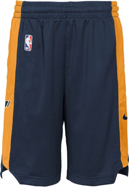 Nike Youth Utah Jazz Practice Shorts. noImageFound 9f38ca643622