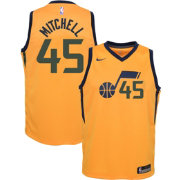 Nike Youth Utah Jazz Donovan Mitchell #45 Gold Dri-FIT Swingman Jersey