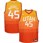Nike Youth Utah Jazz Donovan Mitchell Dri-FIT City Edition Swingman Jersey