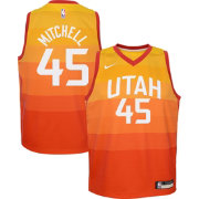 Nike Youth Utah Jazz Donovan Mitchell Dri-FIT City Edition Swingman Jersey fa9a799d9fa8