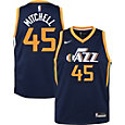 Nike Youth Utah Jazz Donovan Mitchell #45 Navy Dri-FIT Swingman Jersey
