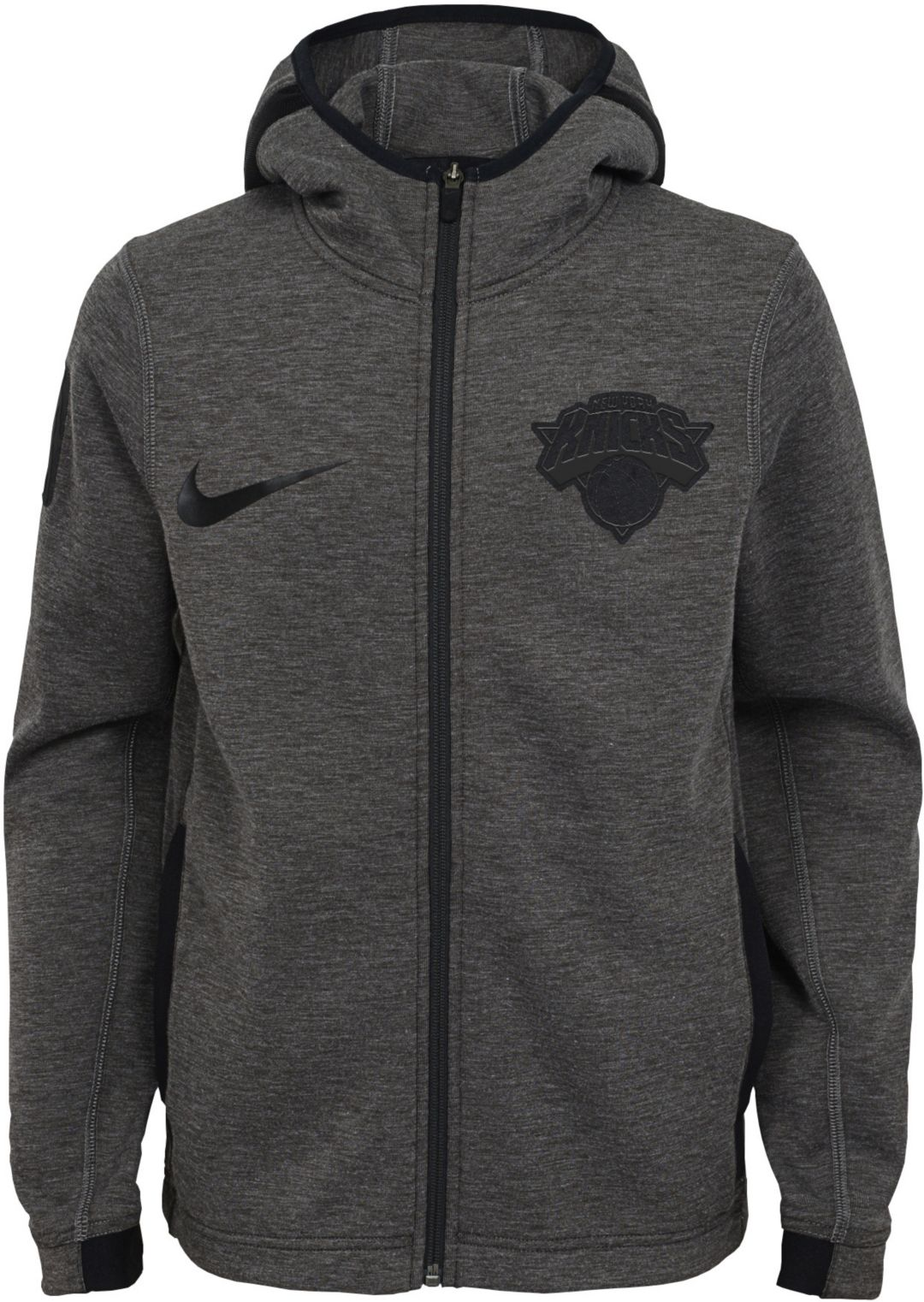 05604a50fe6 Nike Youth New York Knicks On-Court Dri-FIT Showtime Full-Zip Hoodie ...