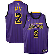 a8c6c84f9 Product Image · Nike Youth Los Angeles Lakers Lonzo Ball Dri-FIT City  Edition Swingman Jersey