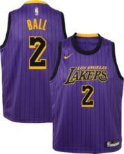 size 40 55990 9c512 Nike Youth Los Angeles Lakers Lonzo Ball Dri-FIT City Edition Swingman  Jersey