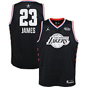 Jordan Youth 2019 NBA All-Star Game LeBron James Black Dri-FIT Swingman  Jersey 14f6a76b1