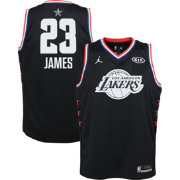 e320eea6dac Jordan Youth 2019 NBA All-Star Game LeBron James Black Dri-FIT Swingman  Jersey