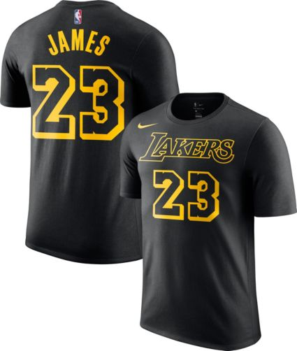 6d38e09aef66 Nike Youth Los Angeles Lakers LeBron James Dri-FIT City Edition T-Shirt