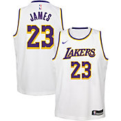 8430d463bcc5 Product Image · Nike Youth Los Angeles Lakers LeBron James Dri-FIT White  Swingman Jersey
