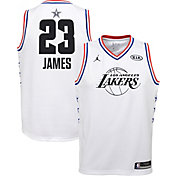 Jordan Youth 2019 NBA All-Star Game LeBron James White Dri-FIT Swingman Jersey