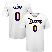 Nike Youth Los Angeles Lakers Kyle Kuzma #0 Dri-FIT White T-Shirt