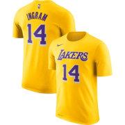 4e50846f4ff Nike Youth Los Angeles Lakers Brandon Ingram  14 Dri-FIT Gold T-Shirt