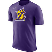 "Nike Youth Los Angeles Lakers ""King Is Crowned"" Purple T-Shirt"