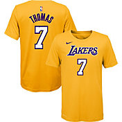 Nike Youth Los Angeles Lakers Isaiah Thomas #7 Dri-FIT Yellow T-Shirt