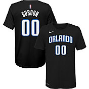 Nike Youth Orlando Magic Aaron Gordon #0 Dri-FIT Black T-Shirt