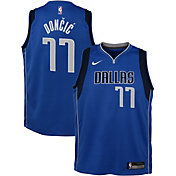Nike Youth Dallas Mavericks Luka Doncic #77 Royal Dri-FIT Swingman Jersey