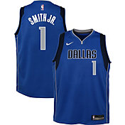 Nike Youth Dallas Mavericks Dennis Smith Jr. #1 Blue Dri-FIT Swingman Jersey