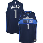 Nike Youth Dallas Mavericks Dennis Smith Jr. #1 Navy Dri-FIT Swingman Jersey