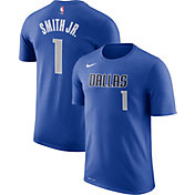 Nike Youth Dallas Mavericks Dennis Smith Jr. #1 Dri-FIT Blue T-Shirt