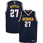 Nike Youth Denver Nuggets Jamal Murray #27 Navy Dri-FIT Swingman Jersey