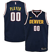 Nike Youth Full Roster Denver Nuggets Navy Dri-FIT Swingman Jersey