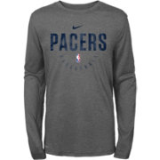 Nike Youth Indiana Pacers Dri-FIT Practice Long Sleeve Shirt