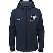 Nike Youth Indiana Pacers On-Court Dri-FIT Showtime Full-Zip Hoodie