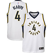 Nike Youth Indiana Pacers Victor Oladipo #4 White Dri-FIT Swingman Jersey