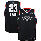 Jordan Youth 2019 NBA All-Star Game Anthony Davis Black Dri-FIT Swingman Jersey