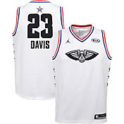 Jordan Youth 2019 NBA All-Star Game Anthony Davis White Dri-FIT Swingman Jersey