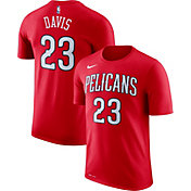 Nike Youth New Orleans Pelicans Anthony Davis #23 Dri-FIT Red T-Shirt