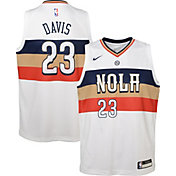 Nike Youth New Orleans Pelicans Anthony Davis Dri-FIT Earned Edition Swingman Jersey