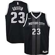 Nike Youth Detroit Pistons Blake Griffin Dri-FIT City Edition Swingman Jersey