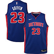 Nike Youth Detroit Pistons Blake Griffin #23 Royal Dri-FIT Swingman Jersey