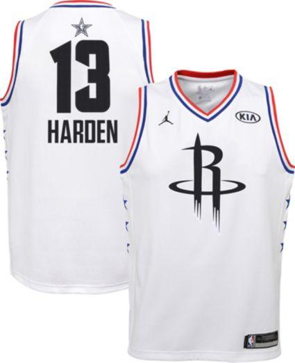 Jordan Youth 2019 NBA All-Star Game James Harden White Dri-FIT ... e7ab08bd8